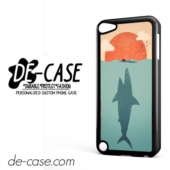 Shark Attacks Swimming Woman DEAL-9507 Apple Phonecase Cover For Ipod Touch 5