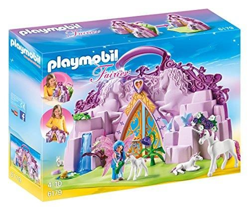 Playmobil Unicorn Horse Blue And Pink Princess Castle Accessories Figure Only