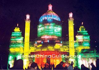 Harbin Ice Festival! I can't imagine how cold it's going to be!