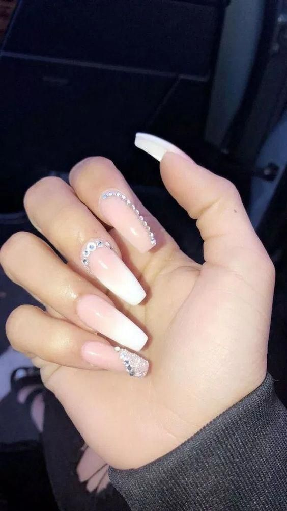 39 Birthday Nails Art Design That Make Your Queen Style Nails Design With Rhinestones Best Acrylic Nails Prom Nails