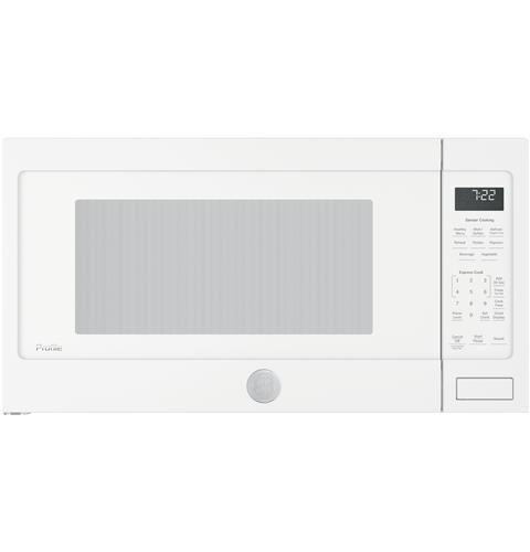 Ge Profile Series 2 2 Cu Ft Countertop Sensor Microwave Oven