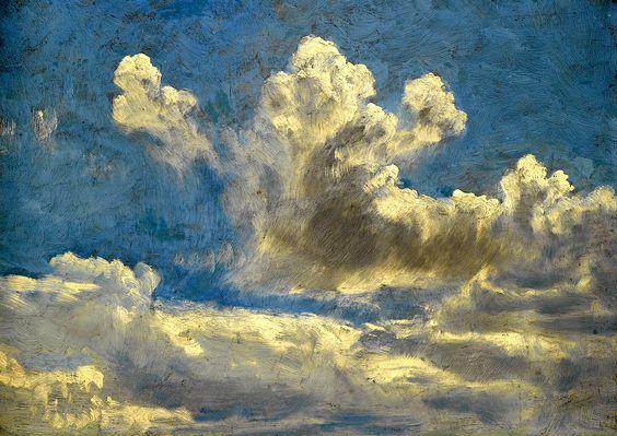 John Constable - Cloud Study, circa 1821-1822
