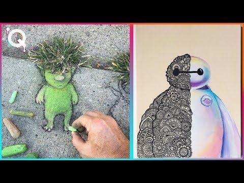 Creative Ideas That Are At Another Level Tiktok Art Youtube Youtube Art Art Creative