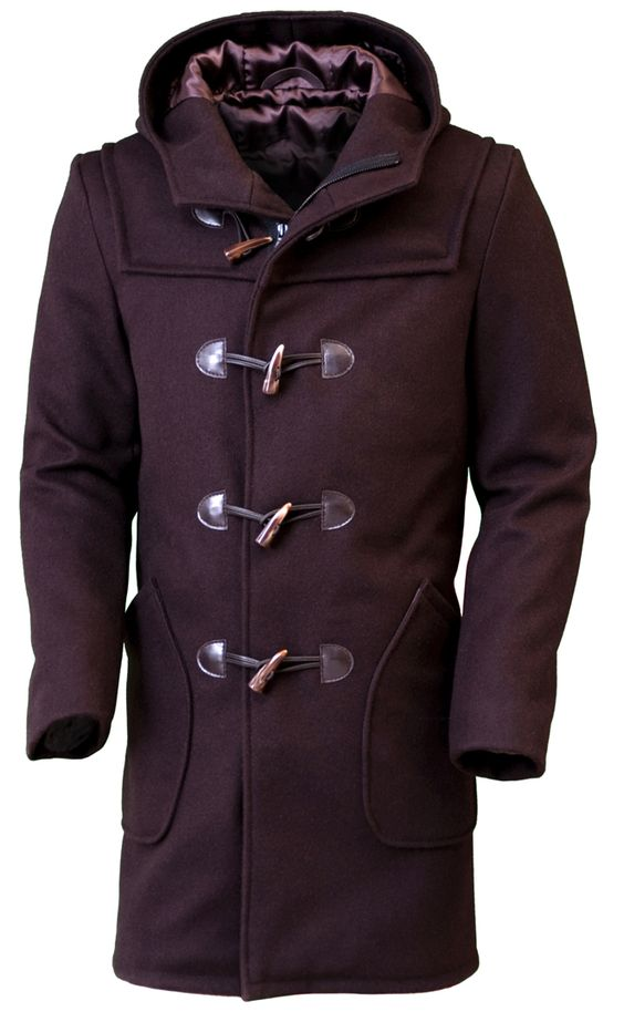 Schott Satin Lined Duffle Coat for the man in your life...and