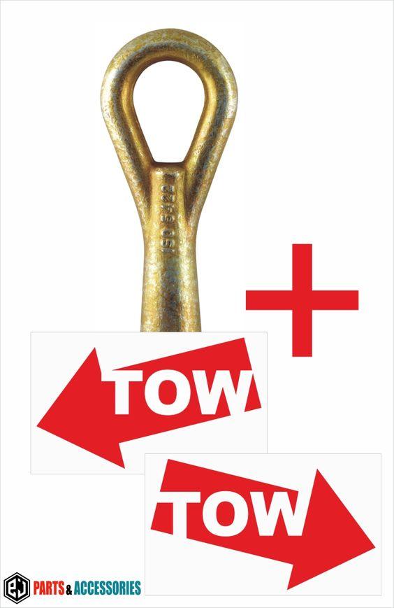 Tow hook ring lug towing eye towhook loop for Lexus HS LS CT 200H Toyota Prius