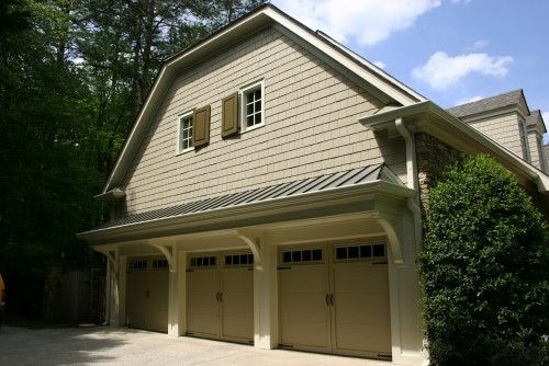 Garage overhang ideas for the home and garden for Garage overhang