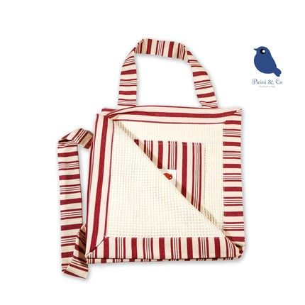 Magic Beach Towel - by Picini&Co on Etsy ----- The multipurpose summer must-have. This cute beach towel is ideal for bringing with you everywhere because it converts into a shoulder bag in 3 simple folding steps. Pretty AND practical: magic! Handmade in Italy for you by Picini&Co with beautiful fabric, for adults and kids. (My shop!)