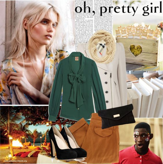 """""""Pretty Girl"""" by africagirls ❤ liked on Polyvore"""