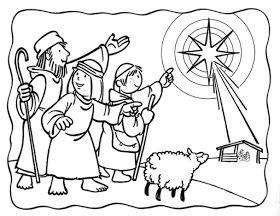 Material Educativo Para Maestros Secuencia Para Colorear El Nacimiento Del Nino Jesus Artesania Biblica Navidad Preescolar Paginas Para Colorear De Biblia
