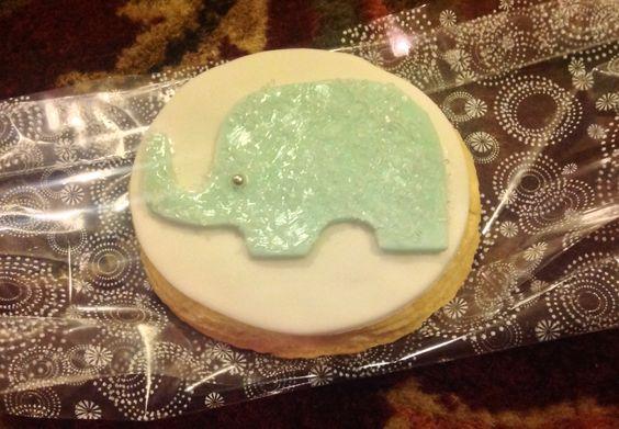 Elephant Lemon cookies