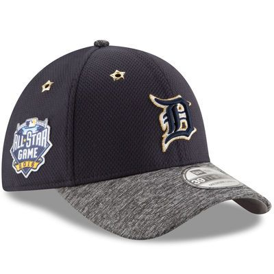Detroit Tigers New Era 2016 MLB All-Star Game Patch 39THIRTY Flex Hat - Navy