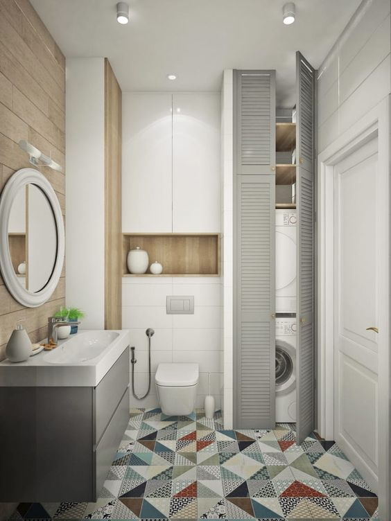 Surprisingly Cute Modern Bathroom