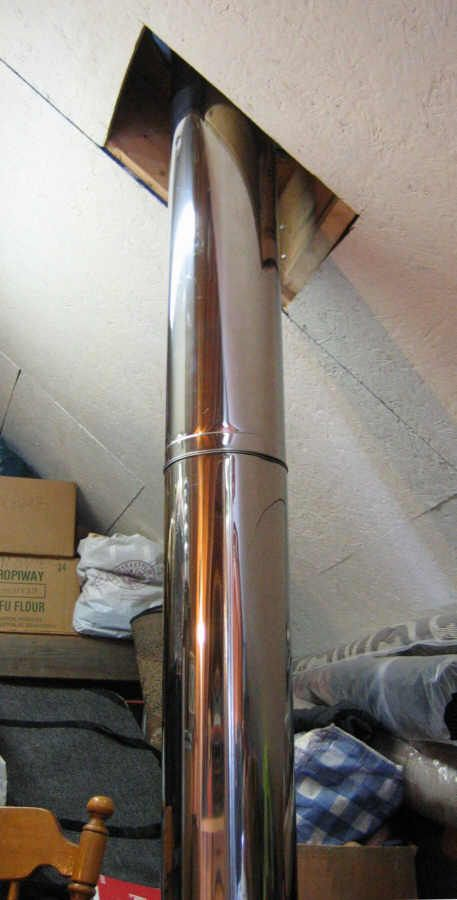 Stove Pipe Installing Wood Stove Pipe