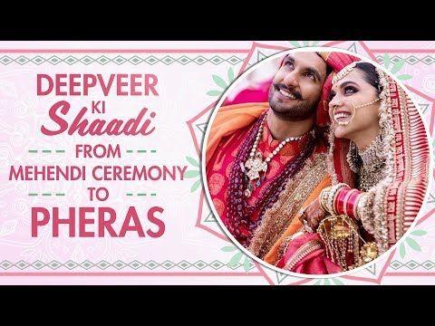 Deepika Padukone And Ranveer Singh Wedding Pictures From Mehendi Konkani And Sindhi Ceremonies Youtube Ranveer Singh Deepika Padukone Mehendi