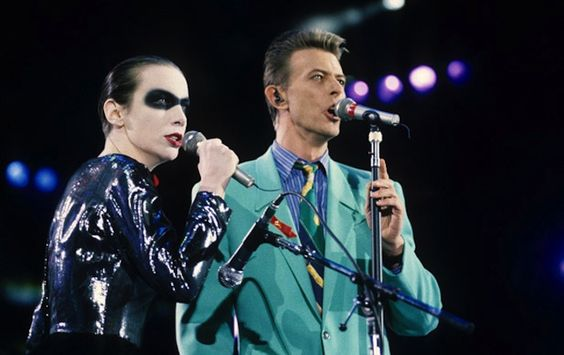 David and Annie Lennox