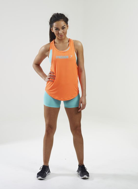 Gymshark Move Racerback Vest. Order yours > https://www.gymshark.com/collections/t-shirts-tops/womensGymshark