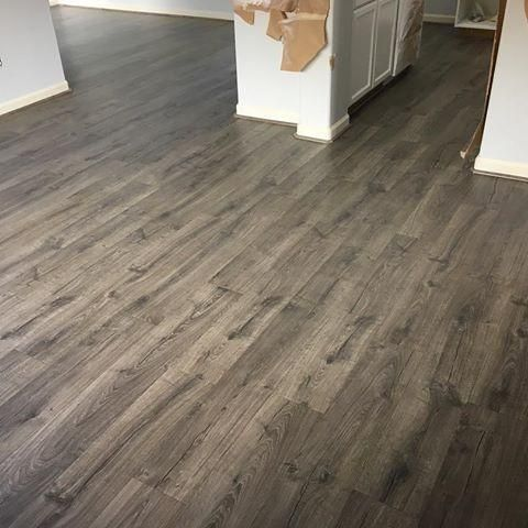 Pergo Outlast Vintage Pewter Oak 10 Mm Thick X 7 1 2 In Wide X 47 1 4 In Length Laminate Flooring 1 Flooring Pergo Laminate Flooring Wood Floors Wide Plank