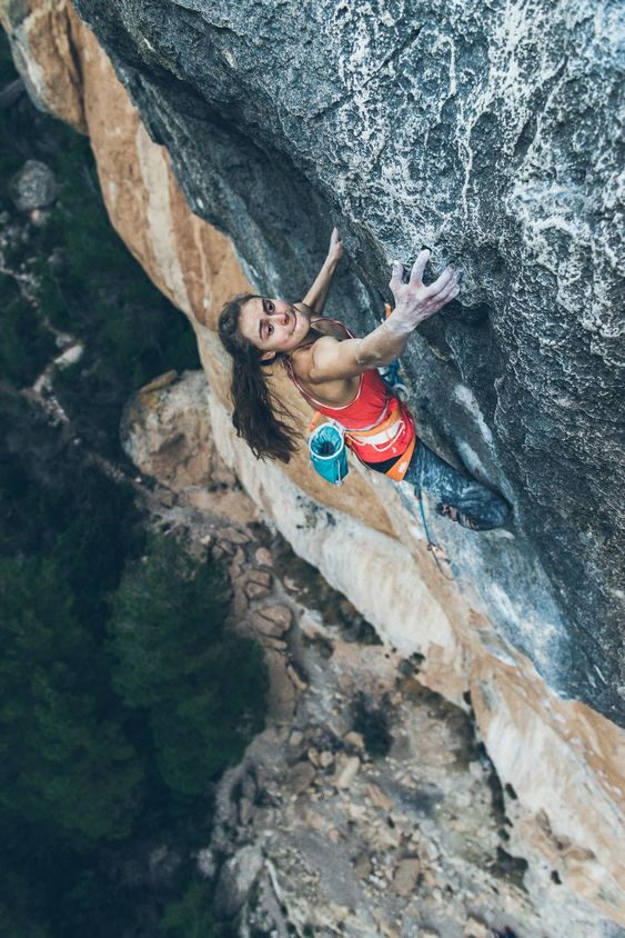 What It's Like to Be A Professional Rock Climber at 19