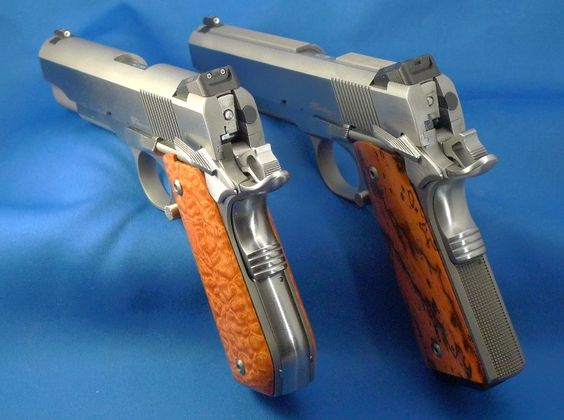Dan Wesson Commander Bobtail and Heritage