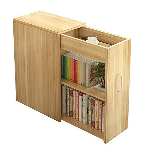 Huo Coffee Table Simple With Door Small Bookcase Simple Bookshelf