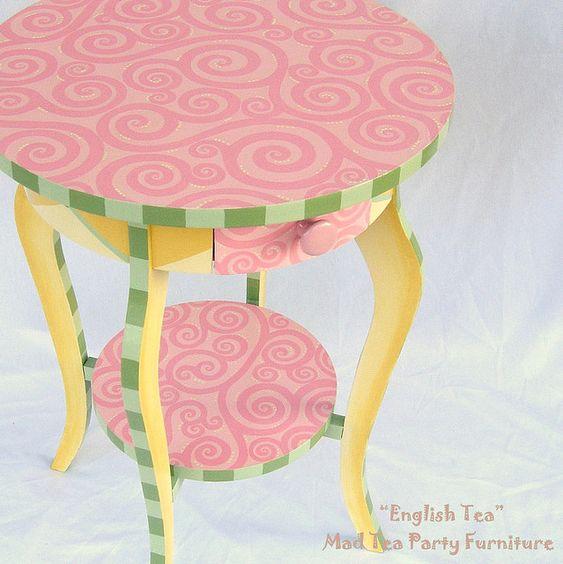 """""""English Tea"""" - Mad Tea Party furniture"""