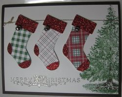like the stockings and the tree together