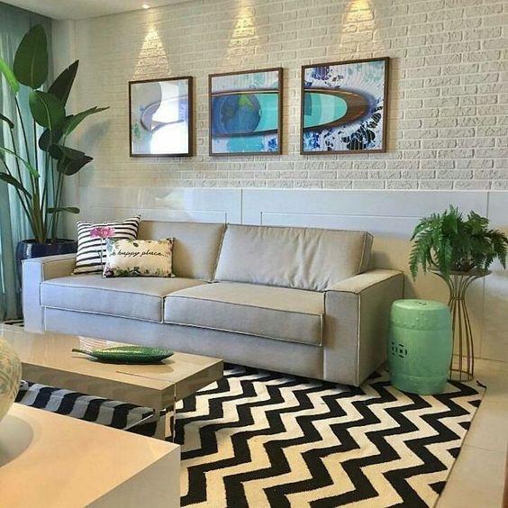 Conheça a influência das cores na hora de decorar a sua sala e com quais tons elas combinam na hora de compor a cartela ideal.