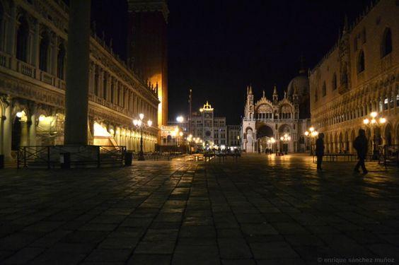 Venecia. San Marcos nocturna