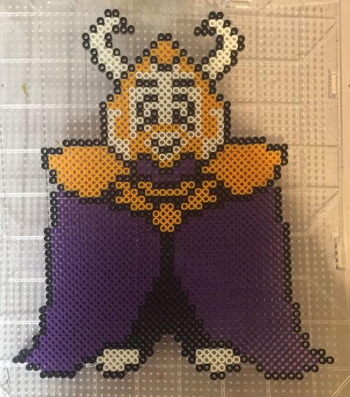 Image result for asgore perler bead pattern