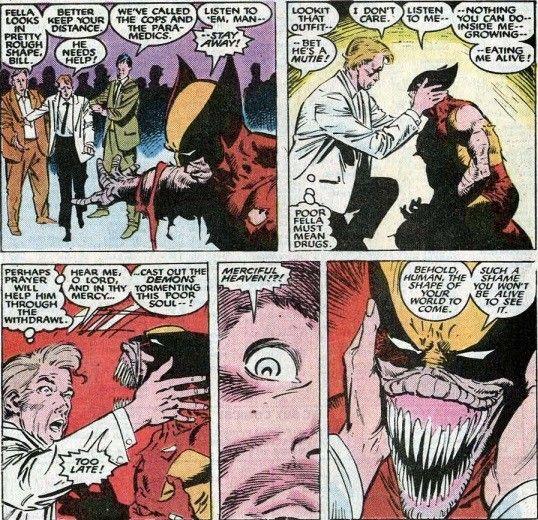 Wolverine And Reverend William Conover Uncanny X Men Vol 1 232 234 Marvel Artwork Marvel Artwork