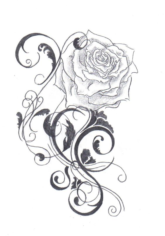tattoos fonts ideas designs pictures images black rose tattoo