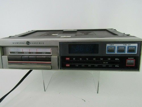 20 0 Vintage Ge General Electric Under Cabinet Radio Tape