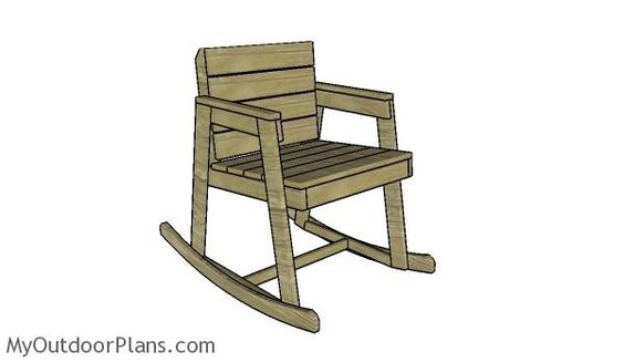 plan rocking chair gratuit - 28 images - 1000 ideas about adirondack chair kits on rustic ...