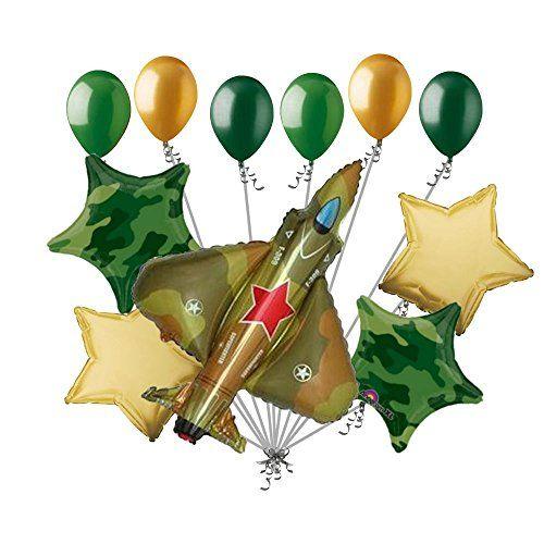 Camo Party Army Balloons Green Balloon Camouflage Balloons Camo Balloons Army Party Camo Decorations Baby Shower Balloons