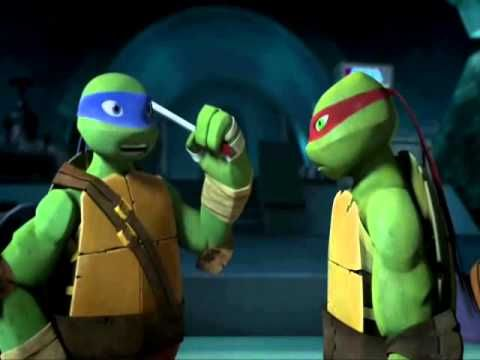 TMNT - Leonardo's Crush is in The Foot Clan - YouTube
