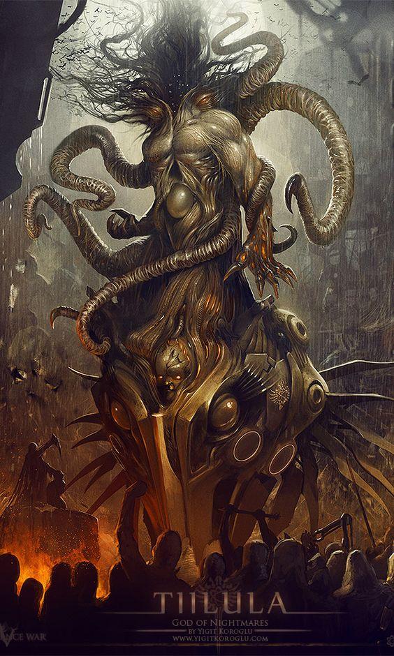 mythological gods | Dark & Mythical Fantasy Art By Yigit Korocglu ...