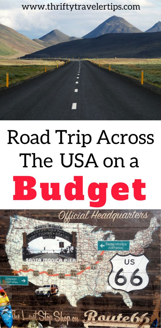 Interactive Map Usa Road Trip%0A Cheap Road Trip Across the USA   College student budget  Road trips and  Tents