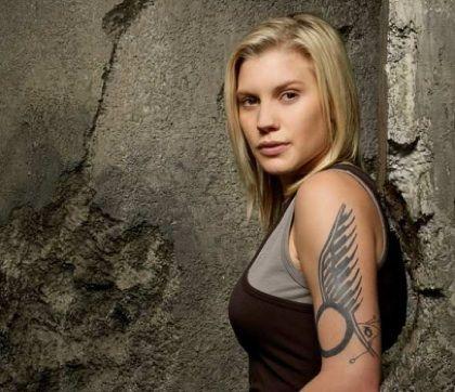 "Kara ""Starbuck"" Thrace  played by Katee Sackhoff - hottie"