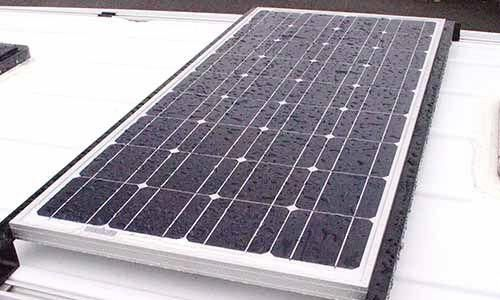 100 Watt Solar Panel Installed With 30 Amp Controller Capacity Of Controller Allows For Additional Panels In 2020 Solar Panels Solar Panels For Home Diy Solar Panel