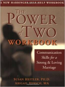 The Power of Two workbook on communication. Great workbook to help you work on your communication in marriage.