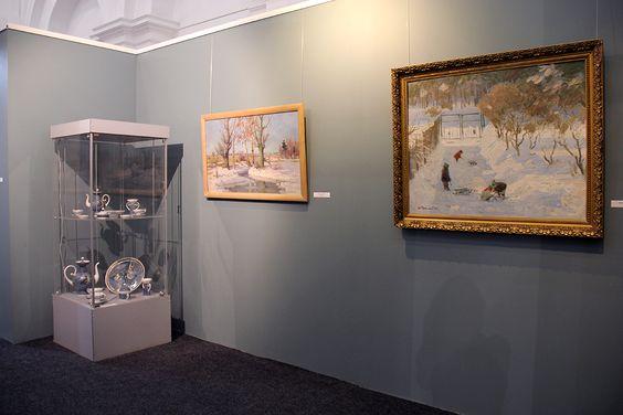 Выставка «Зимние мистерии или Время новогодних чудес» в музее изобразительных искусств. Фото Жени Шведы
