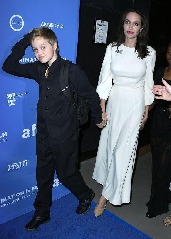 Shiloh Jolie Pitt Angelina Jolie Getty Images