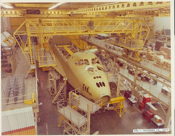 Structural Test Facility, Palmdale, CA 1977 #space #shuttle