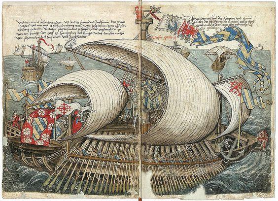Konrad von Grünenberg - Beschreibung der Reise von Konstanz nach Jerusalem 1487 by peacay, via Flickr