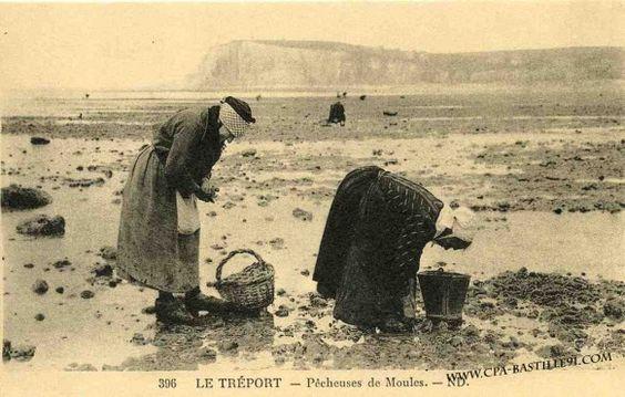 pêcheuses de moules (Le Tréport)