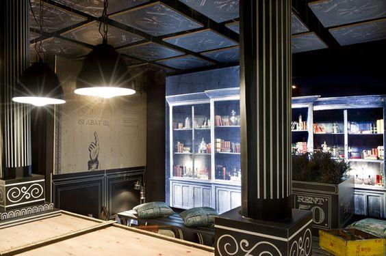 """Print Avenue"". Espacio Casa Decor Barcelona 2012 para Sabaté / Egue y Seta"