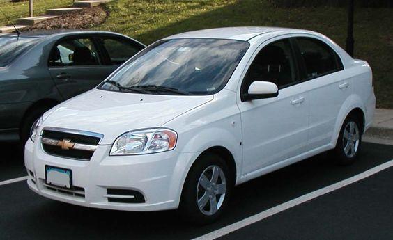 Front View Chevrolet Aveo 2013 Chevrolet Aveo Chevrolet Camaro
