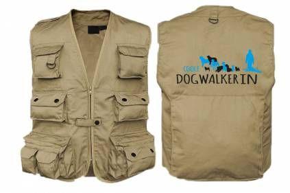 Kollektion -Dogwalker-Mil-Tec Hundesport Outdoor-Weste mit Dummytasche…