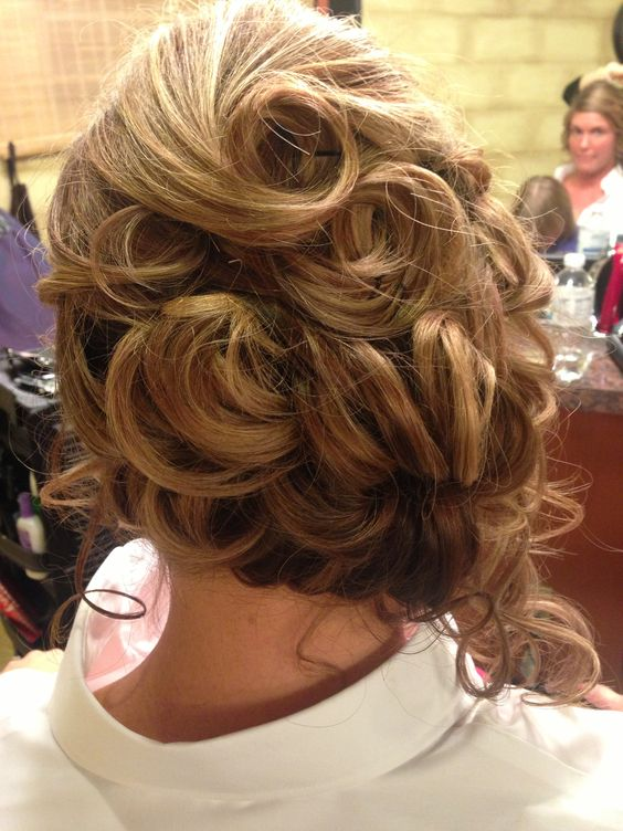 hair styles for proms updo side pony pin curls back view hair by 9223