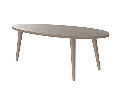 Marque Amazon Movian Table Basse Ovale Adour Modern 55 X 110 X 39 Effet Chene En 2020 Table Basse Ovale Table Basse